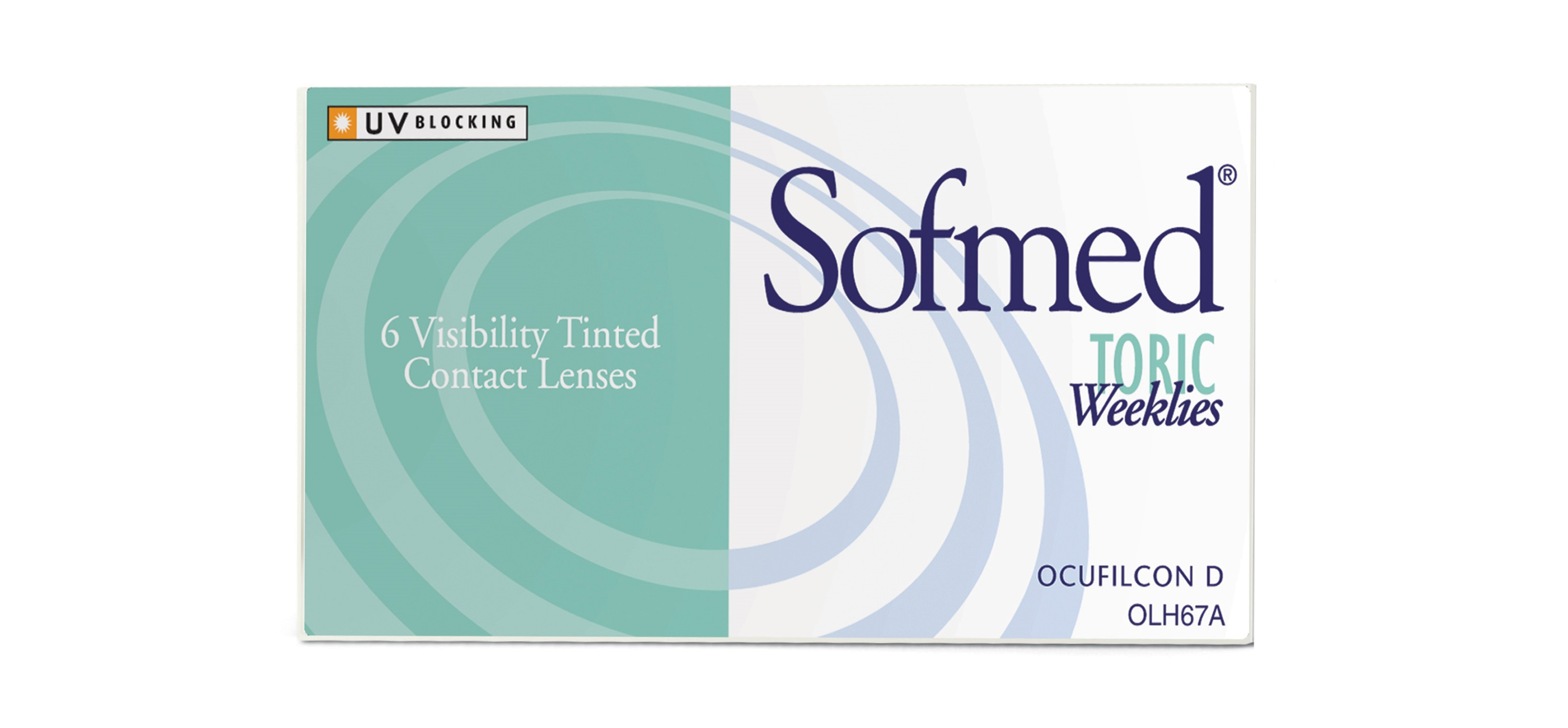 Sofmed TORIC Weeklies 6 Pack