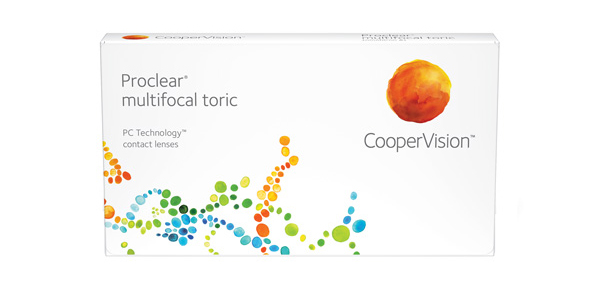Proclear multifocal toric 6 Pack - Near