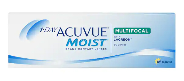 1-DAY ACUVUE MOIST MULTIFOCAL 30 Pack - Medium Add