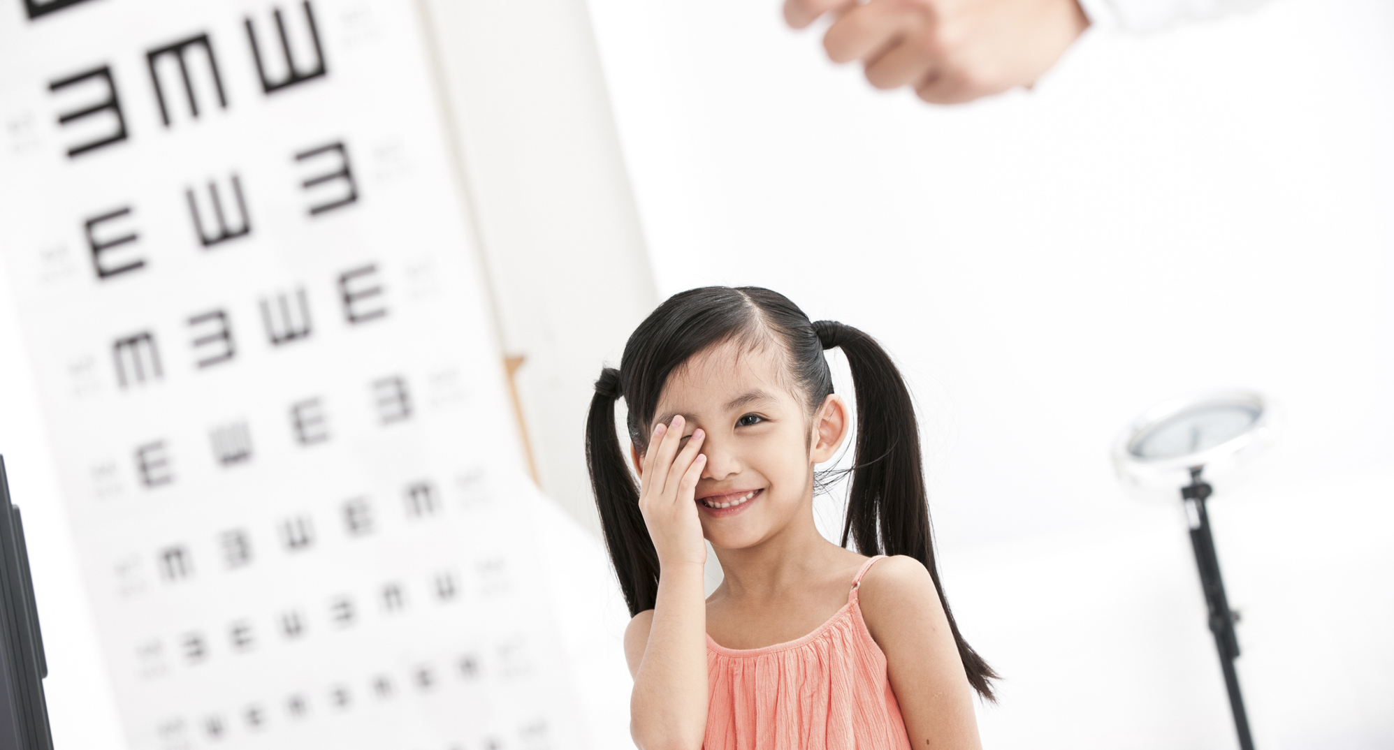 The Snellen eye chart is a staple of every eye exam.