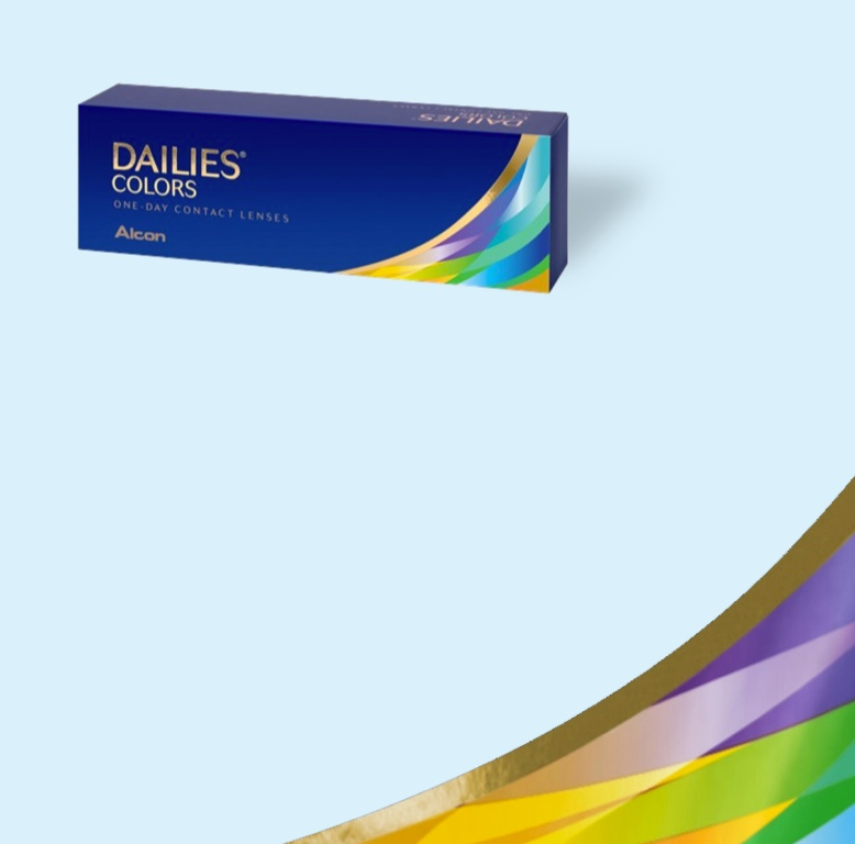Dailies colors one-day contact lenses